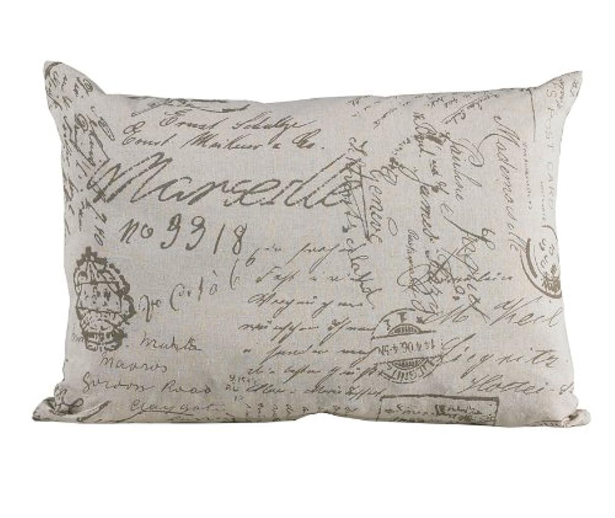 修理工キャプチャー食事を調理するHiEnd Accents Fairfield Printed Linen Pillow by HiEnd Accents
