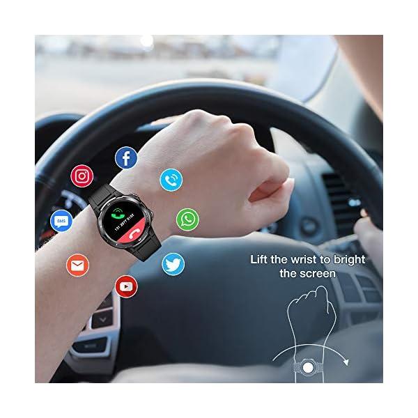 UMIDIGI Uwatch GT Smartwatch Hombre Reloj Inteligente 5ATM Impermeable con Cronómetro Pulsera Actividad de Fitness con… 2