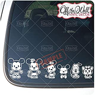 Best mickey mouse family car stickers Reviews