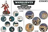 Games Workshop 99120199040 Imperialis - Figura de acción de 20 Bases Redondas, 25/40 mm
