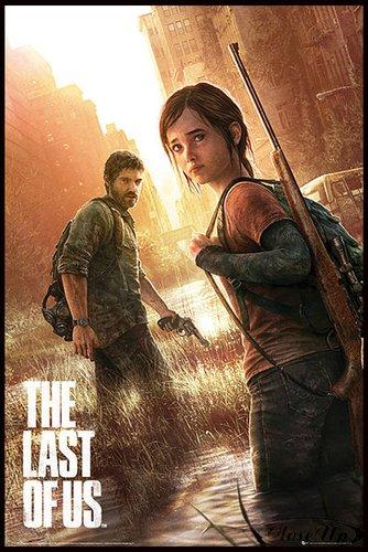 Close Up The Last of Us Poster (93x62 cm) gerahmt in: Rahmen schwarz