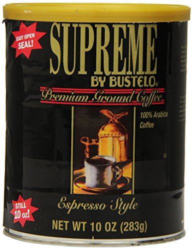 Supreme By Bustelo Espresso Style Coffee, 10 Ounces