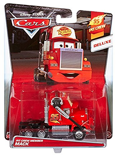 Disney Pixar Cars Deluxe Oversized Die-Cast Vehicle, Mack
