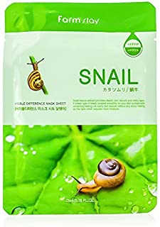 Farm Stay Visible Difference Mask Sheet - Snail 10x23ml/0.78oz