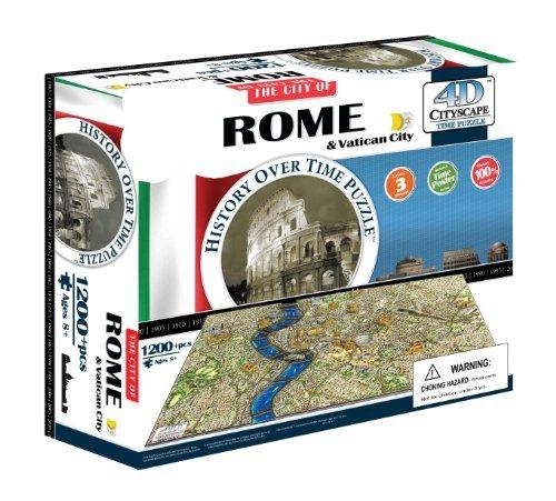 Puzzles 4d Roma