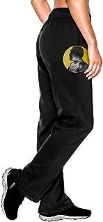 MEGGE Women's Bob Dylan Comfortable Athletic Lounge Pant Black