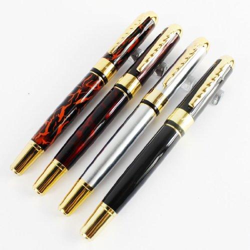 4 pcs Gullor 250 pluma estilogr¡§?fica en 4 colores, 2 tipos de puntas