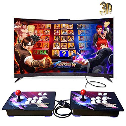 3D Pandora's Box 720P Full HD Real Arcade Video Game Console 3160 Juegos Retro Consola Arcade Video Gamepad Botones Personalizados Lista Inteligente, MZ002