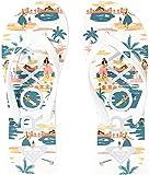 Roxy Tahiti Sandalias para mujer, (Multi 1), 37 EU