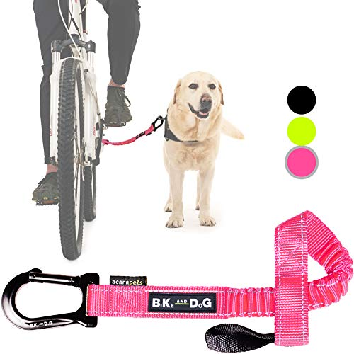 BIKE AND DOG Bicycle Dog: to take one or More Dogs by Bicycle. Patented Product (Rose)