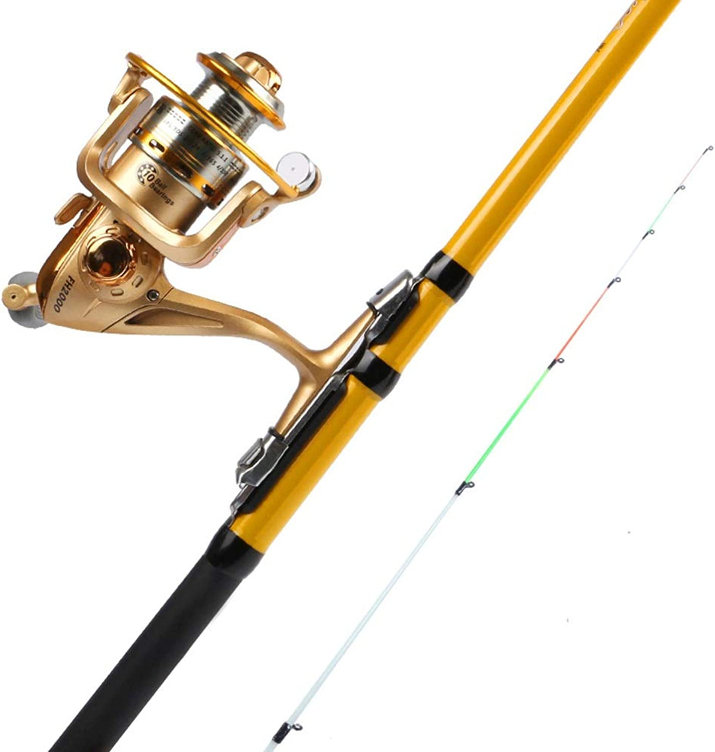 MAHZONG Spinning Rods Telescopic Fishing Rod, Fishing Rod, 1.5 M, 1.8 M, 2.1 M Carbon Fiber Fishing Rod, Suitable for Outdoor Fishing