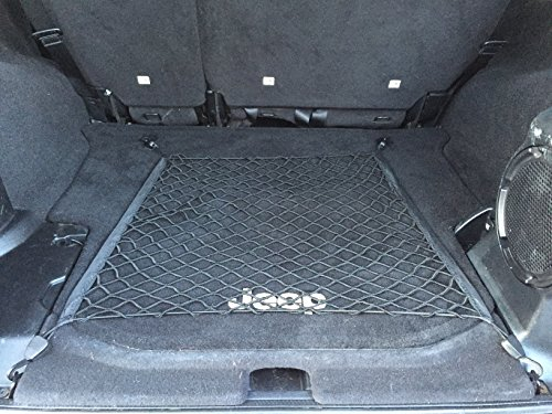 Floor Style Trunk Cargo Net for Jeep Wrangler JK Rubicon Sahara Unlimited 4 - Door 2007-2018 New