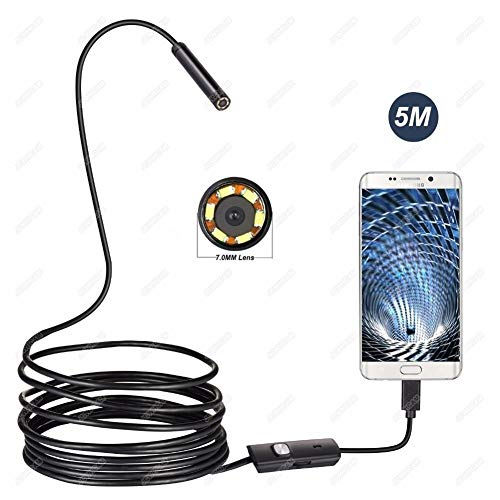 wasserdichte USB-Endoskop-Kamera Sewer Geeignet for Android Phone, Auto Inspektion (Cable Length : 3.5M Cable)