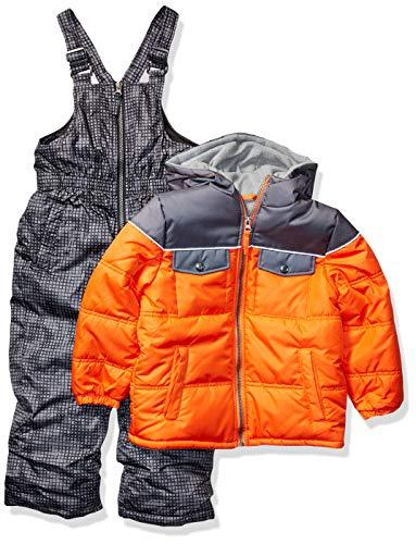 iXtreme Boys' Toddler Snowsuit, Orange, 4T