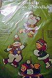 Bucilla Christmas Needlecraft (Ice Frolics, Kit No. 3388)