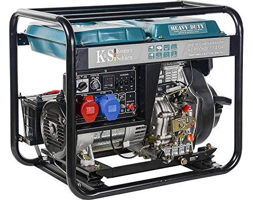 K&S | Könner&Söhnen | Diesel Generator | 230V | 400V | 7,5KW | Stromaggregat | 9100HDE-1/3 ATS | Stromerzeuger