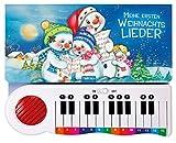 Meine ersten Weihnachtslieder: Klavierbuch mit abschaltbarem Sound: Beschäftigungsbuch Soundbuch Liederbuch (Weihnachten)