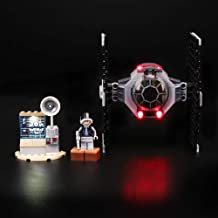 Briksmax Led Lighting Kit for Star Wars TIE Fighter Attack - Compatible with Lego 75237 Building Blocks Model- Not Include The Lego Set