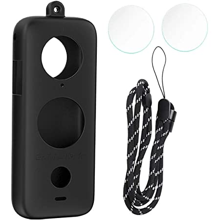 Anti-Slip Protective Silicone Case Rubber Cover for Insta360 One X Lens