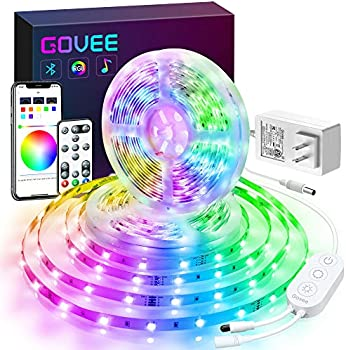 Govee Color Changing 32.8-Feet Bluetooth LED Strip Lights