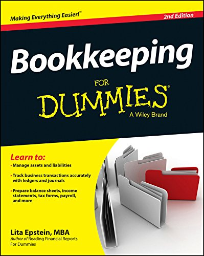 Compare Textbook Prices for Bookkeeping For Dummies 2 Edition ISBN 9781118950364 by Epstein, Lita