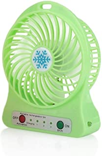 YCEOT Third Gear Fan USB Charging Mini Portable Cute Cheap Cheap Cooler Fan Summer Home Office Escritorio de Escritorio Ventilador