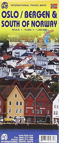 Stadtplan Oslo / Bergen /Southern Norway 1 : 10.000