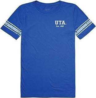 W Republic UTA UT Arlington Mavericks NCAA Women`s t Shirt Practice Football Tee