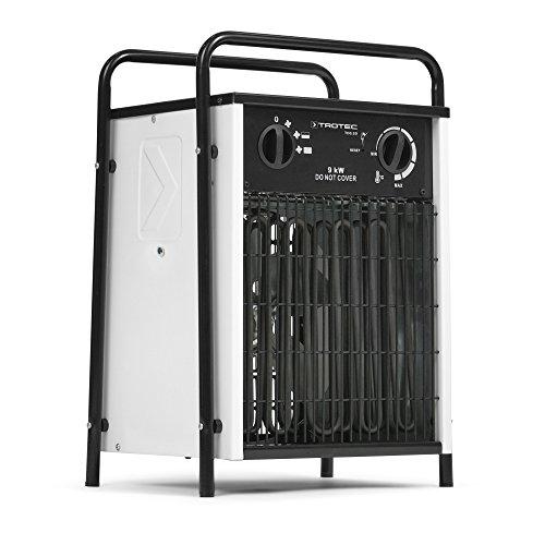 TROTEC TDS 50 mit 9 kW Elektroheizer Heizlüfter Heizgerät Bauheizer mit integriertem Thermostat