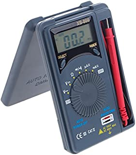waves XB-866 オートレンジ AC / DC 電圧 電流 導通 抵抗 ポケット デジタルマルチメーター テスター
