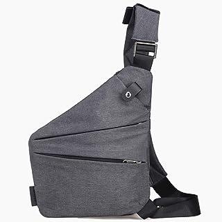 Sling bag, Sling Shoulder Bags Backpacks Chest Crossbody Bag Pack Rucksack for Teens Men Gray