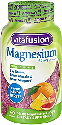 Magnesium Gummy Supplement, 60ct, Citrus