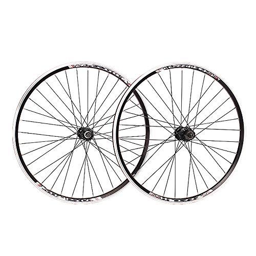 """NAINAIWANG Laufrad Set Hinterrad Vorderrad 20\""""/24\""""/26\""""/700C Mountainbike-Radsatz MTB-Radräder Scheibenbremse Fahrrad Vorderrad Scheibenfelge V Bremse Lager Nabe für 7/8~11 Geschwindigkeit"""
