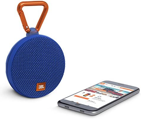JBL Clip 8 Waterproof Portable Bluetooth Speaker (Blue)