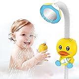 SUNWUKING Bath Shower Head for Kids - Baby Bath Toys Electric Shower Baby Bathtub Toys Baby Bath Shower Head Electric Preschool Bath Toys for Toddler Shower Head Toy Shower Head for Baby
