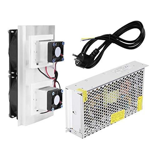 XIAOFANG 120W Dual-Core Semiconductor Refrigeracion Peltier Cooler Air Radiador Radiador DIY Mini Frigorífico Sistema de refrigeración Equipo de enfriamiento