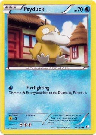 Pokemon - Psyduck (33/149) - BW - Boundaries Crossed