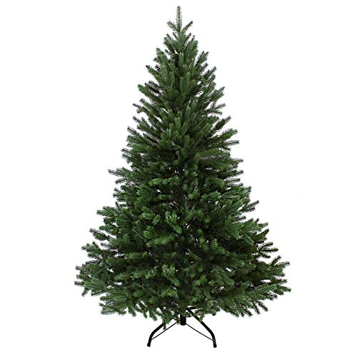 BB Sport Albero di Natale PE/PVC 240 cm Verde Scuro Abete Natale Artificiale