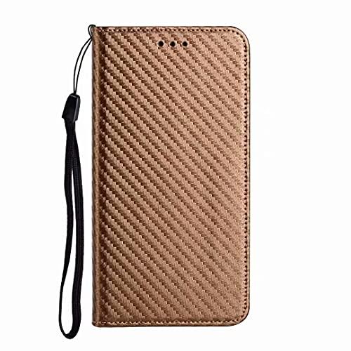 Funda para iPhone 13 Pro Max, con purpurina a prueba de golpes, con estilo libro de piel con tapa magnética, función cartera, soporte para tarjetas, funda protectora para iPhone 13 Pro Max oro rosa
