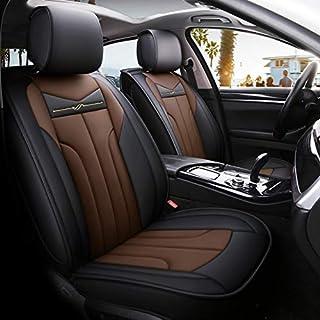 kompatibel mit Mazda CX-5 GSC Sitzbez/üge Auto Komplett 5-Sitze Universal Autositzbez/üge Schonbez/üge Vorne Kunst Leder mit Airbag System X-LINE
