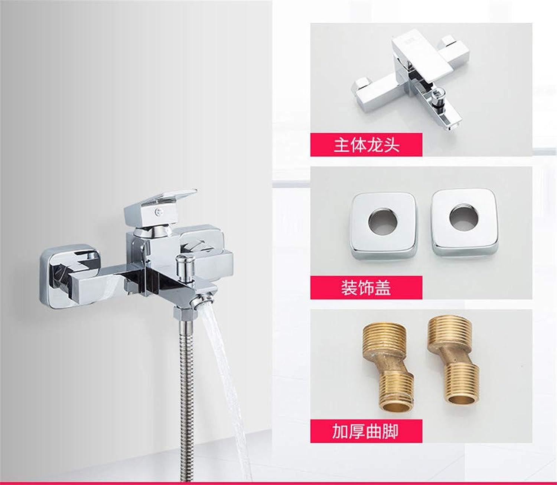 Guolaoer Faucet Simple Shower Bath Shower Nozzle???Silver White