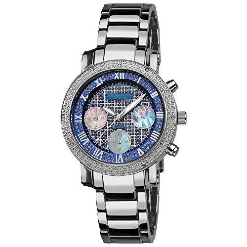 Akribos XXIV Reloj de Cuarzo Barroco Diamante...