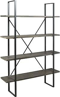 Ashley Furniture Signature Design - Gilesgrove Bookcase - Black/Gray