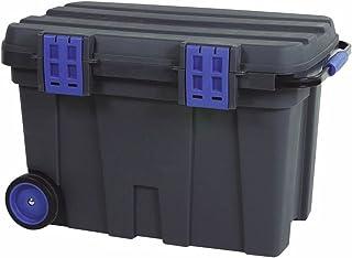 """RAACO 715720""""de Pecho 100cm de almacenamiento Caja de herramientas, negro/azul"""
