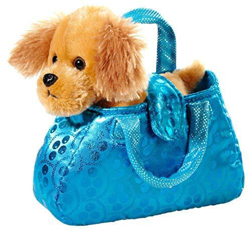 Heunec 501676 Plüschtier, Hund, braun in blau
