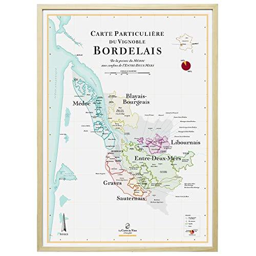 Mappa dei vini di Bordeaux