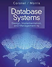 database systems design implementation & management 13th edition