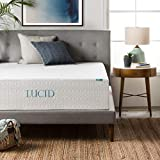 Best lucid latex mattresses - LUCID 14 Inch Memory Foam Bed Mattress Conventional Review