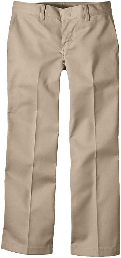 Dickies Award KP312 Girls Flexwaist Flat Straight Pant Clearance SALE! Limited time! Frt Leg