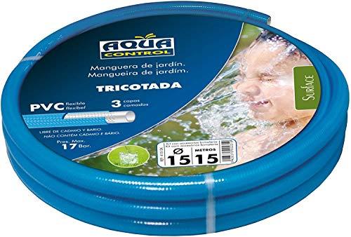 AQUA CONTROL 41515 K Tuyau de Jardin avec kit d'accessoires bi-matière 15 mm x 15 m